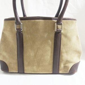 Coach Suede Shoulder Bag # 7536